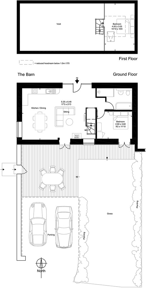 The Barn Floor Plan