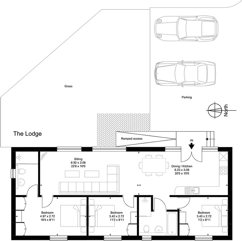The Lodge Floor Plan