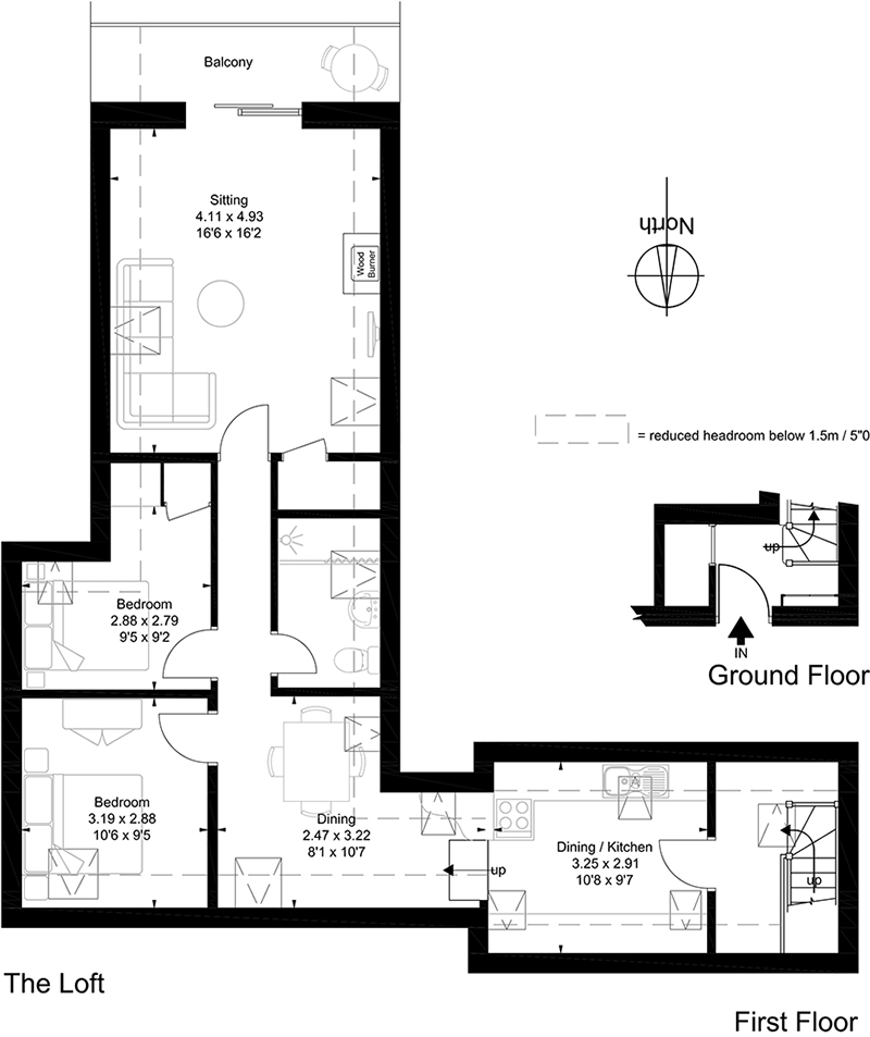 The Loft Floor Plan