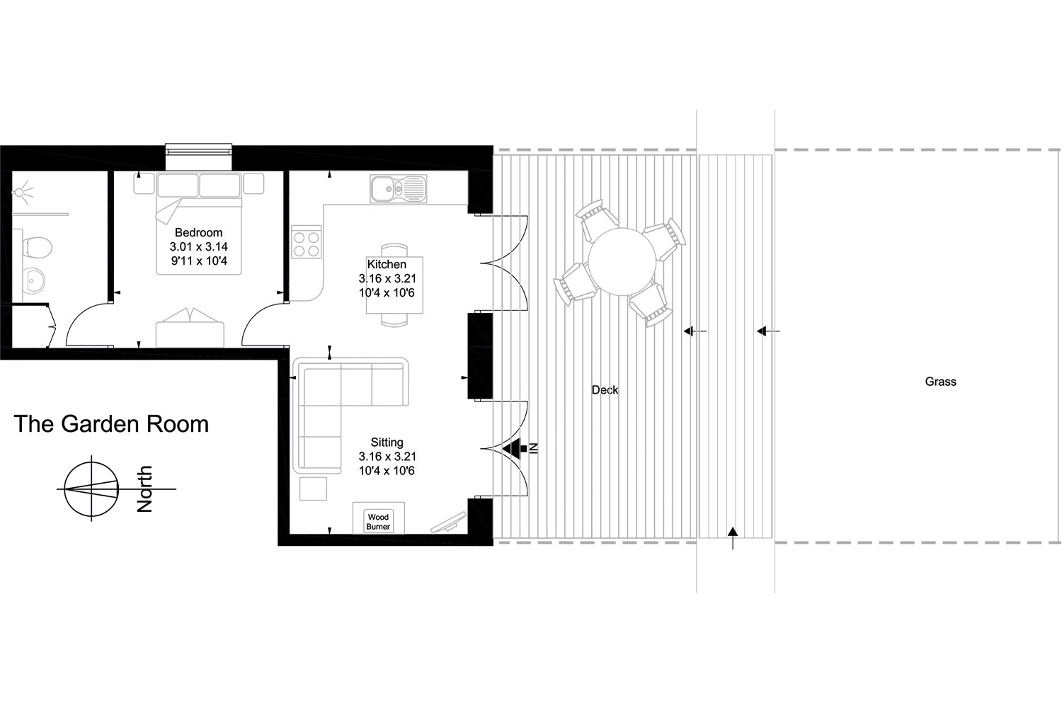 The Garden Room Floor Plan